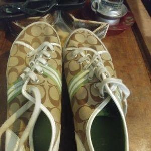 Woman's Coach Sneakers